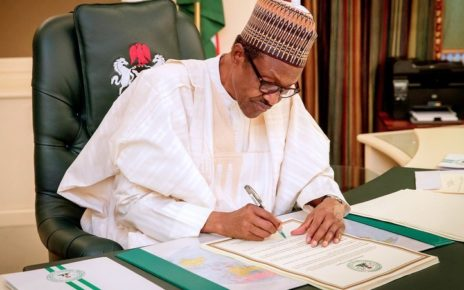 president buhari approves 30000 minimum wage