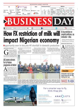 Forex restraint on food importation favour's MSMEs – Association