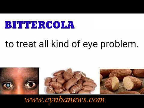 bitter kola for eye defect