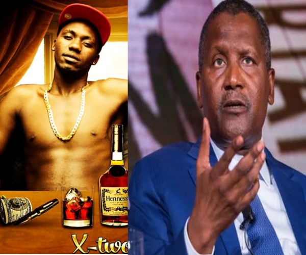 Dangote Offers 10M to X TWO J to QUIT music