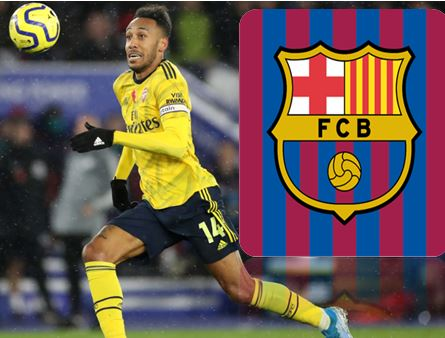 Aubameyang Awaiting Barca's Interest