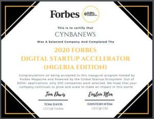 forbes digital accelerator awards